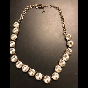 J Crew gold statement necklace
